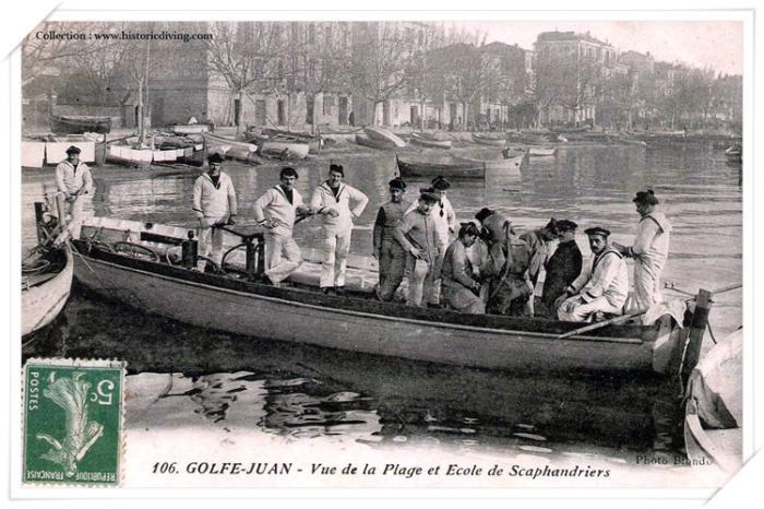 FR-PACA-Golf Juan-Ecole de plonge-marque