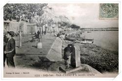 La route d'Antibes et la nouvelle corniche (!)