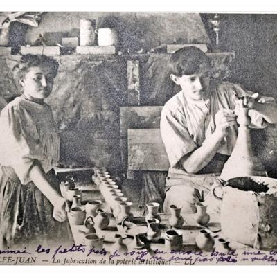 La poterie à Golfe-Juan