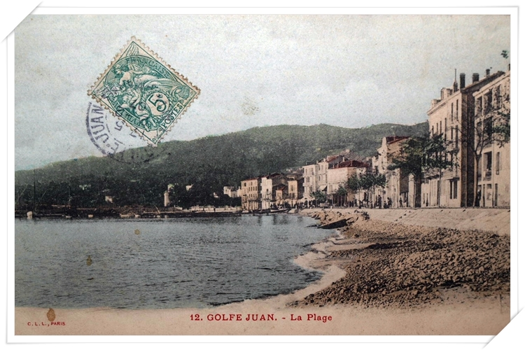 La plage à l'est de GJ qui n'existe plus aujourd'hui