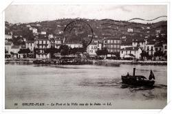Vue sur l'Escadre Française depuis le quai sud