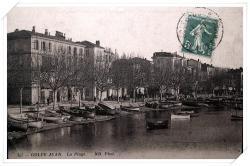 Très belle vue sur l'ancien port et le boulevard