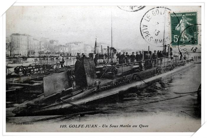 Les sous-mariniers à l'escale