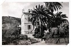 L'hôtel Stellamare qui était situé en bordure de la RN7