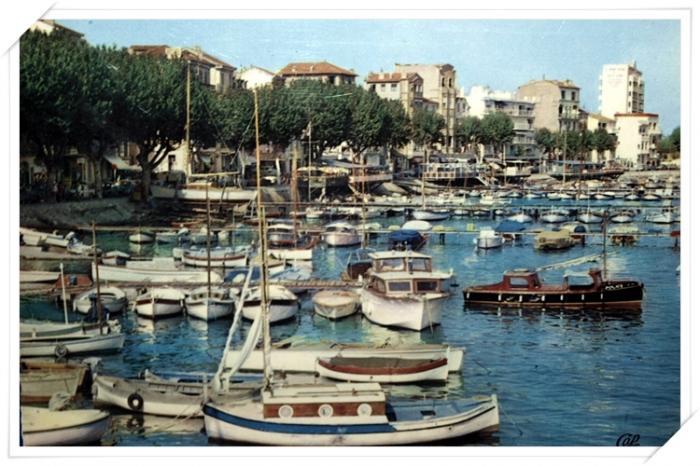 Très belle vue sur l'ancien port