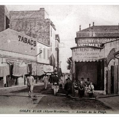 L'avenue ou rue de la Gare