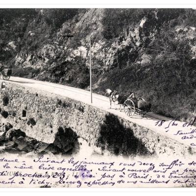 La route de Vallauris