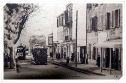 L'avenue de la Liberté avec les tramways