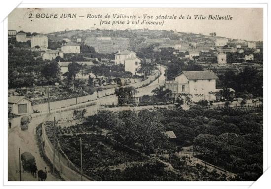 Très belle vue depuis la tour de la villa Belleville