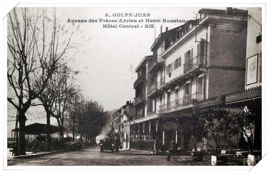 L'avenue des frères Roustan