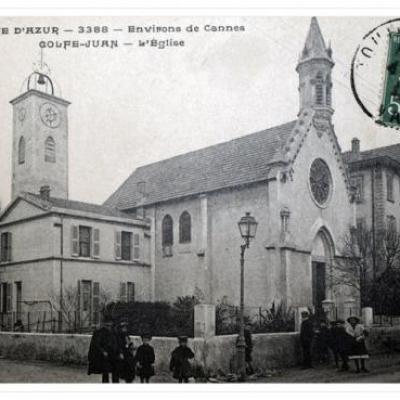 L'église de Golfe-Juan