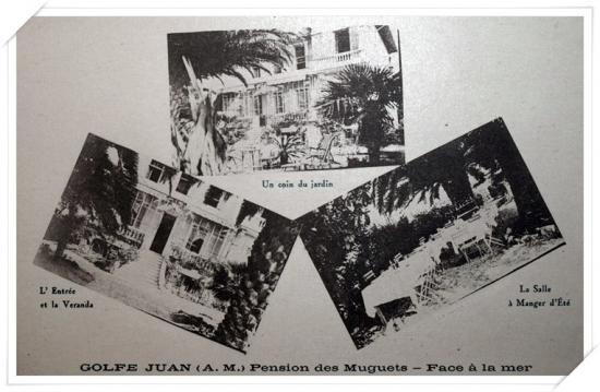 Carte postale publicitaire