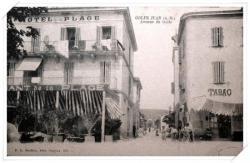 Très belle carte prise encore depuis l'avenue des frères Roustan