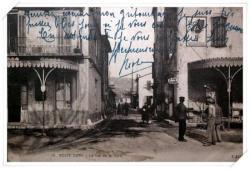 Très belle carte animée prise depuis l'avenue des frères Roustan