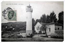 Très belle photo de l'ancien phare avec son logement de fonction