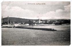 La port côté Est avec l'usine LOSPIED en arrière plan