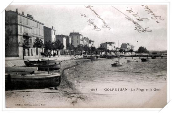 Vue sur l'ancien boulecard maritime et le port