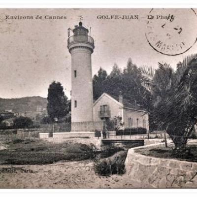 L'ancien phare de Golfe-Juan