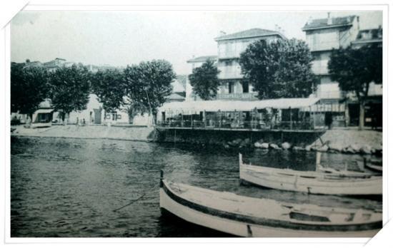 Les pointus avec le Cental Hôtel qui avant s'appelait l'Hôtel Central