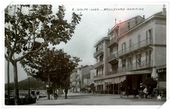 Même angle que la 1924 de Giletta mais en noir et blanc
