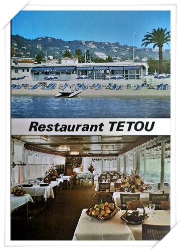 Le célèbre restaurant TETOU ...